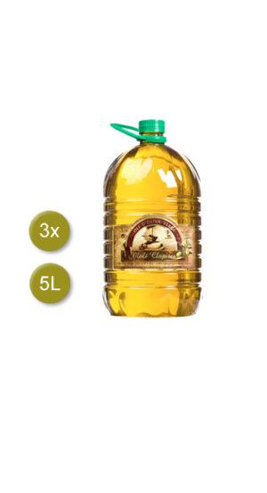 garrafa 5L aceite virgen moli clapises Godall
